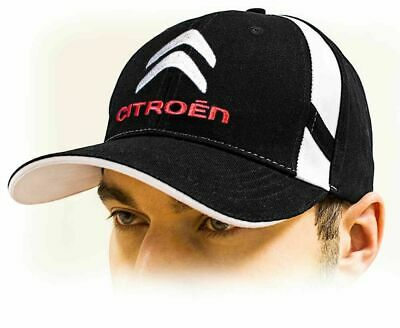 CITROEN baseball Cap, Unisex Hat, black. Adjustable size with embroidered logo!