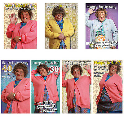 Mrs Browns Boys Age, Family Birthday Cards - FREE 1ST CLASS POSTAGE