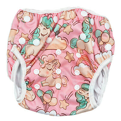 Reusable Baby Boy Boyish Whale Swim Nappy Nappies 3-13kg (No Liners Needed )S163