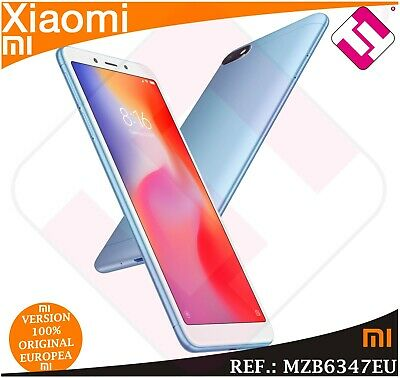 Telefono Movil Xiaomi Redmi 6A Blue 32Gb Rom 2Gb Ram Smartphone Version Global