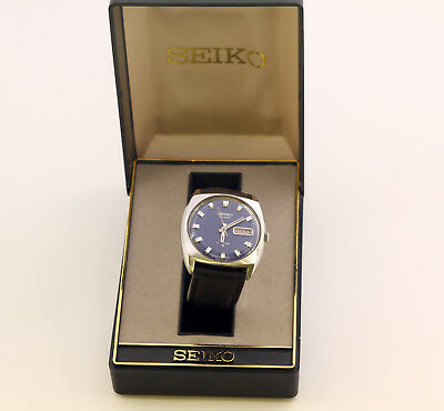 Seiko day and date automatic men's wrist watch, 17 Jewels. Japan, cal. 6309A