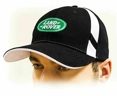 Land Rover baseball Cap Hat, black. Adjustable size with embroidered logo!!!