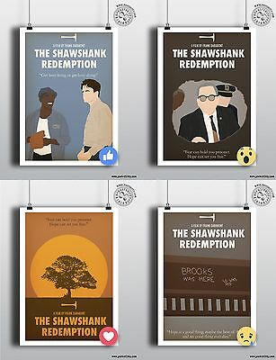 THE SHAWSHANK REDEMPTION - Minimalist Movie Poster Print Posteritty