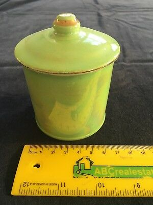 Mailing Ware lidded mustard/jam/marmalade/honey jar- pot