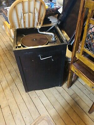 Antique Gramaphone In Working Order By  Melforte
