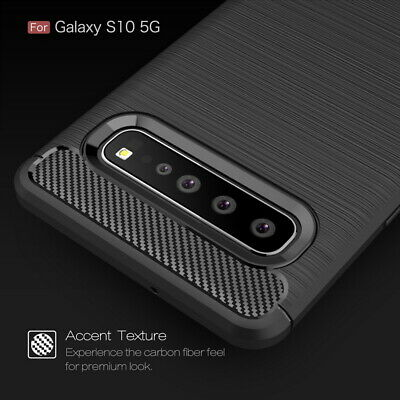 For Samsung Galaxy S10 5G S10+ Luxury Shockproof Silicone Soft TPU Case Cover