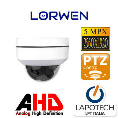 Lorwen IP CAMERA ONVIF WP5724VS4 5 Mpx POE AUDIO VIDEOCAMERA VARIFOCALE P2P 5 MP