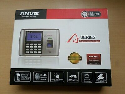 Anviz A300 Fingerprint & RFID Scan Access Control Time Recording Time Clock