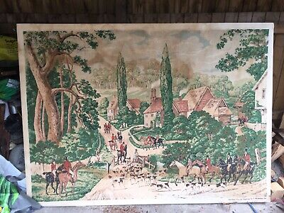 Very Large Tapestry- Hunting /riding Scene