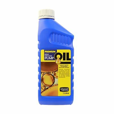 Premium Vacuum Pump Oil, 1 litre, 1000ml