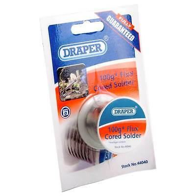 Draper 100G Reel Flux Cored of Solder Wire General Purpose Soldering 44040 SW 2A