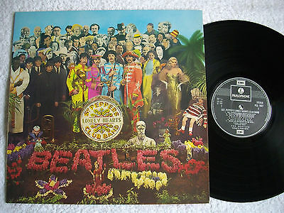 The Beatles ‎– Sgt. Pepper's Lonely Hearts Club Band,PCS 7027 , (UK)