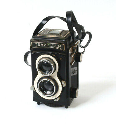 Reflex Traveller 6X6Cm 'Tlr' Camera Plastic Novelty Hong Kong Lomo Lomography
