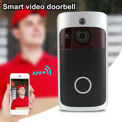 37DF Portable Video Doorbell Video Recorder Camcorder Support TF Card