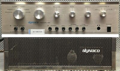 Dynaco PAT-5 & Stereo 120 both upgraded at Audio by Van Alstine AVA bundle USA