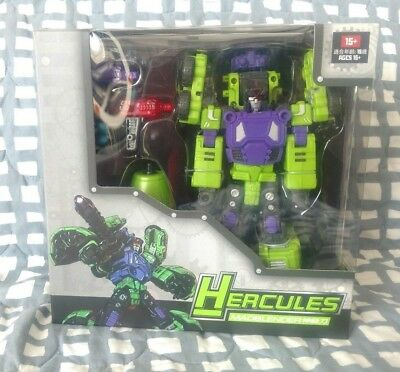 NEW TFC Toy Transformers Hercules Devastator Structor Figure In Stock