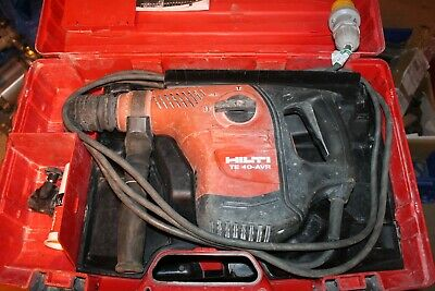 Hilti TE40 AVR Hammer Drill SDS, Breaker, and Chisel Action 110v