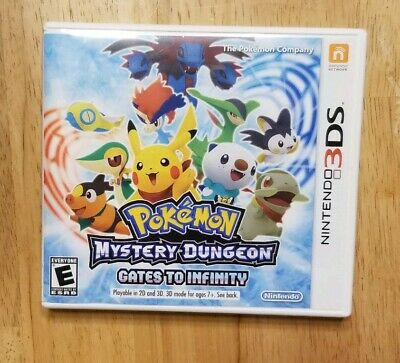 Pokemon Mystery Dungeon: Gates to Infinity Nintendo 3DS, 2013 Authentic Complete