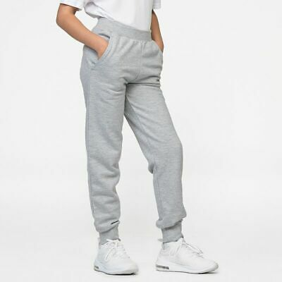 Kids Jogging Bottoms Awdis Kids Tapered Track Pants Boys & Girls JH74J