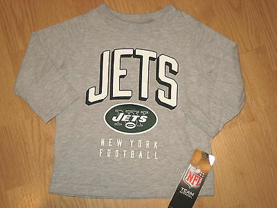 New NY Jets football NFL infant 24 month 24m Team Apparel boys shirt top
