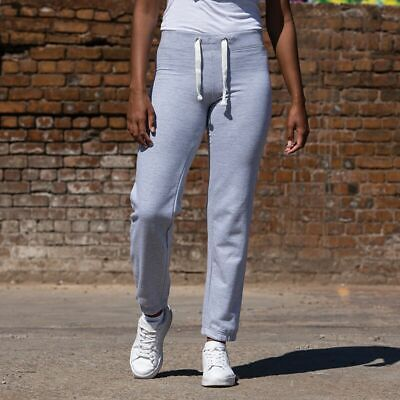 Womens Joggers Gym Awdis Girlie Cuffed Ladies Sweatpants Jogging Bottoms JH076