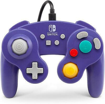 PowerA Wired Controller GameCube Style: Purple - Nintendo Switch - Brand New