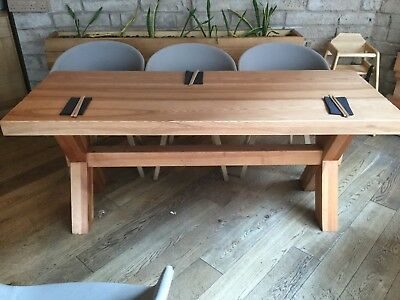 Solid Wood Restaurant Dining Table