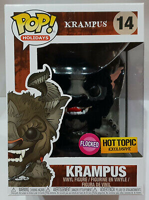Funko Pop! Holidays Krampus Hot Topic Exclusive Flocked Vinyl Figur In Box #14