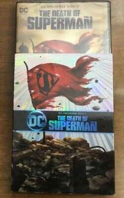 The Death of Superman (DVD, 2018)  DC UNIVERSE Brand New Free Fast Shipping