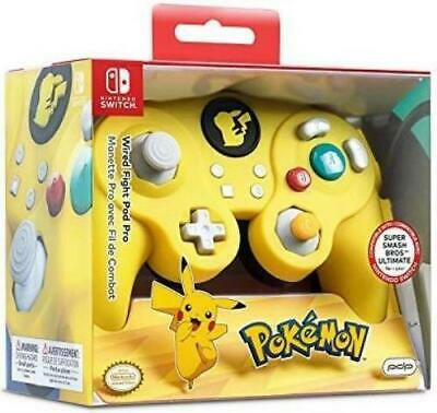 PDP Super Smash Bros Wired Fight Pad Pro Pikachu - Nintendo Switch - Brand New