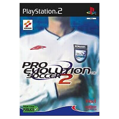 PLAY STATION 2 Ps2 Pro Evolution Soccer 2 Completo Pal