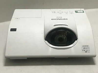 Hitachi Cp-Cx251N Lcd Hdmi Short Throw Projector 2243H Used   Ref:1529