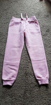 GIRLS TRACK SUIT BOTTOMS PINK AGE 8 YEARS by MATALAN
