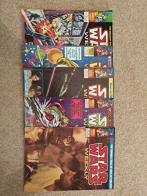 Original Star Wars Comics in Good Condition - 1978 - 1980