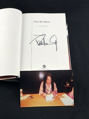 Face The Music: A Life Exposed By Paul Stanley Signed 1St Edition Book W/Proof