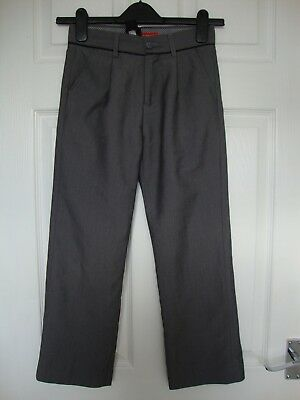 Next Boys Grey Tailored Trousers size 9 years