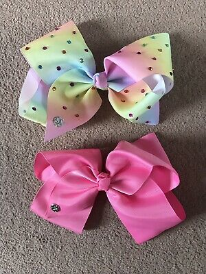 2 Large Genuine Jo Jo Bows - Immaculate