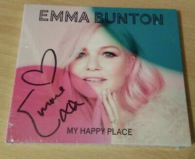 Emma Bunton - My Happy Place CD ** SIGNED / AUTOGRAPHED ** SPICE GIRLS