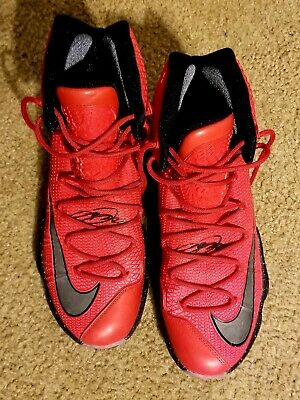 hot sale online 69012 f75de Mens Nike Lebron XIII 13 Elite 831923-606 University Red Black Size 12