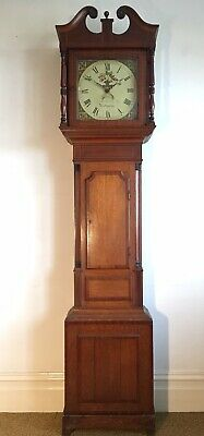 Antique 30 Hour Long Case Clock Stevenson Nottingham