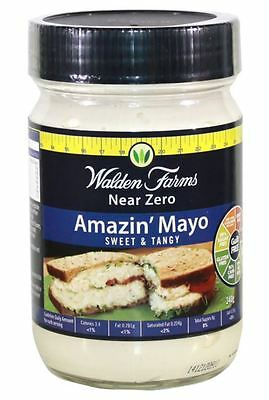 WALDEN FARMS NEAR ZERO CALORIE MAYO | CARB FREE | FAT FREE | ALL FLAVOURS | 340g