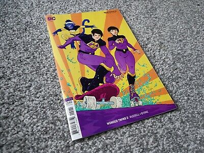 WONDER TWINS #2 of 6 RAMON VILLALOBOS VARIANT (2019) NEW DC UNIVERSE SERIES