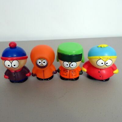 South Park Stan Kyle Eric Kenny Action Figures Squeezable Squeak Toys @HCCWE