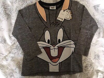 NEXT Top Bugs Bunny Looney Tunes 6 years BNWT