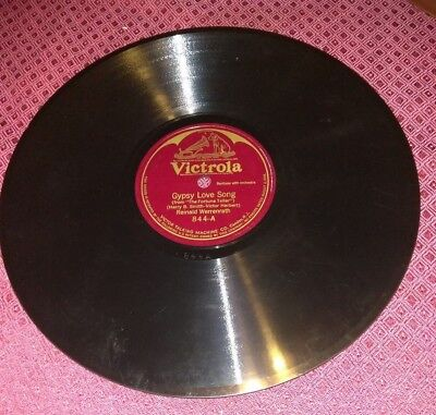 Victor Victrola 844 Reinald Werrenrath Gypsy Love Song / Duna VG+ 78 Shellac