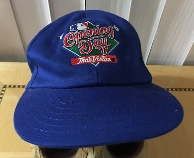 Chicago Cubs True Value OPENING DAY vintage SnapBack SGA Hat Cap