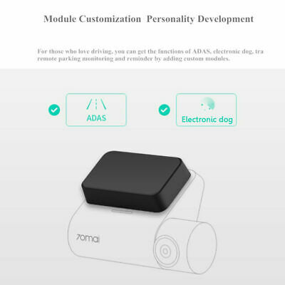 Car Accessories DVR GPS Module Support ADAS Function Match Xiaomi 70mai Dash Cam