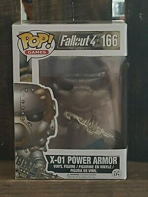 Funko Pop Fallout 4 X-01 Power Armor #166 VAULTED NEW