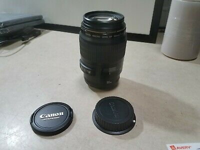 Canon EF 100mm f/2.8 USM Macro Autofocus Lens Excellent condition