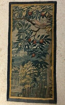 antique Aubusson tapestry 16th century